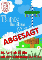 Flyer Tanz in den Mai